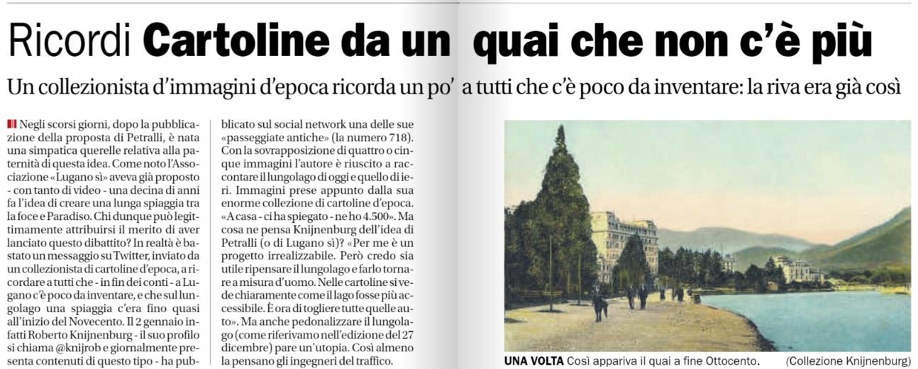 Corriere del Ticino 120119