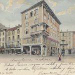 1907 Lugano Piazza Giardino