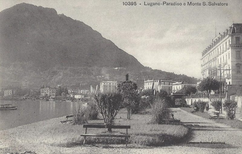 1890 Lugano Splendide giardino - 1